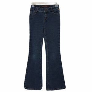 """Grane 7"""" Low-Rise Wide Flare Jeans Size 0 24x30"""